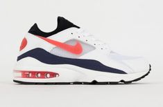 Look Out For The Nike Air Max 93 OG Flame Red