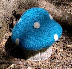 Mushroom hat. omg.. hahahahaha