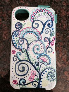 Diy Sharpie Phone Case Make Me Diy Phone Case Phone