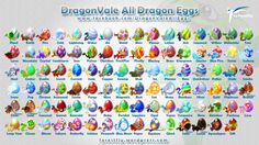 DragonVale All Eggs 2013
