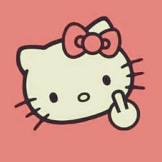I'm pretty sure that when even Hello Kitty is flipping you the bird, you may want to evaluate your continuing relevance as a living being.
