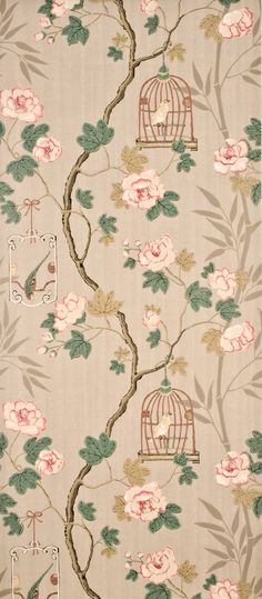 Silver/Rose indoor wallcovering by G P