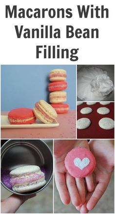 Macarons With Vanill