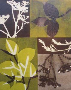 Monotype collage