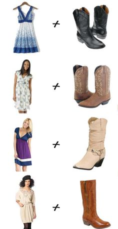I love dresses with boots and would wear them everyday