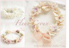 Fleur crown by AYANO TACHIHARA Wedding Design
