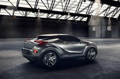 Toyota C-HR concept previews potential compact SUV