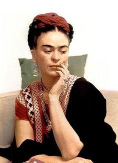 Frida en LA CASA AZUL