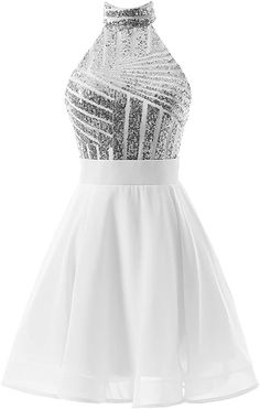 long prom dresses - Short Halter Prom Party Dress Backless Homecoming Dress For Juniors Backless Homecoming Dresses, Pretty Prom Dresses, Hoco Dresses, Prom Party Dresses, Junior Dresses, Dresses For Teens, Cute Dresses, Evening Dresses, Formal Dresses