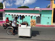 Street life in San Miguel