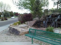 PT NAMPA IDAHO. A WATER SPRING NEAR A POND IN A SUBDIVISION. MAY 15