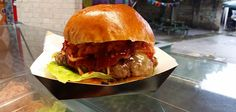 Busan Burger, Busan BBQ. Dead Dolls House (Islington), and Clapham £7.50 Korean mix