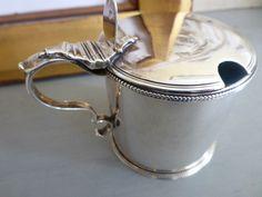 1787 Silver Mustard Pot made by Robert Hennell of London by WilsonPicks on Etsy https://www.etsy.com/listing/226676594/1787-silver-mustard-pot-made-by-robert