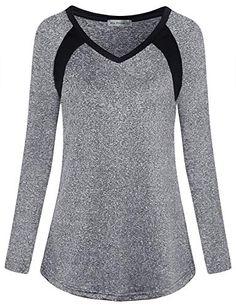 RUIVE Ladies Sportswear Long Sleeve Christmas Elk Print Elastic Tunic Crop Tops Girls Cute Loose Blouse Sweatshirt