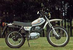 Honda XL250S Honda Motorbikes, Old Motorcycles, Motosport, Dual Sport, Vintage Bikes, Dirt Bikes, Years Passed, Scrambler, Saudi Arabia
