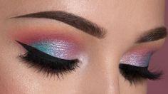 @denitslava Soft Colorful Smokey Eye Makeup
