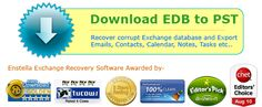 Through the help of Enstella Recover Exchange Mailboxes tool you can recover and convert your exchange EDB file easily. The Help, Software, Cleaning, Home Cleaning
