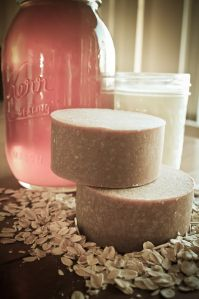 Oatmeal Honey and Goat's Milk Soap Recipe