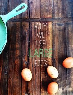 "It's the small stuff that leads to better baking!  // ""Why We Use Large Eggs in Baking"" by @joythebaker"
