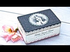 How to decorate a wooden box - decoupage DIY This video shows and explains all the techniques step by step