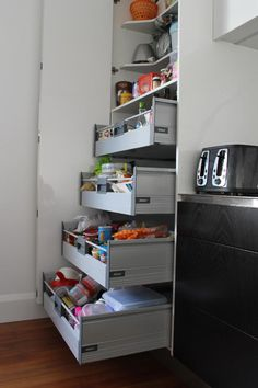 Objex Cabinet Makers Ltd. - Pantry Internal Drawers