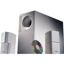Best Cheap Bose Acoustimass 5 - Speaker System, ideal for stereo or home theater use - White Speaker Stands, Speaker System, Bose Home Theater, Speaker Mounts, Bookshelf Speakers, Gadgets And Gizmos, Good And Cheap, Shops