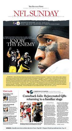 The Buffalo News : close up juxtaposition