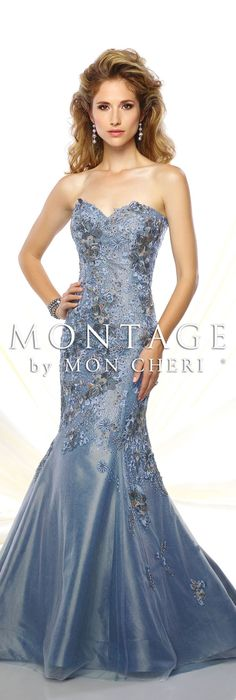 Montage by Mon Cheri Spring 2016 - Style No. 116949 #eveninggowns