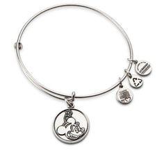 Minnie S Silhouette Silver Disney Parks Exclusive Alex Ani Bangle Bracelets With Charms