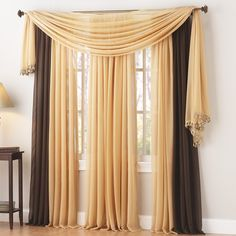Curtains I want for my new apartment! Savannah Sheer Panel