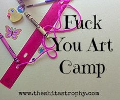 My rant on when Art Camp made my 8yo cry - repeatedly. #parenting #fail #shitastrophy