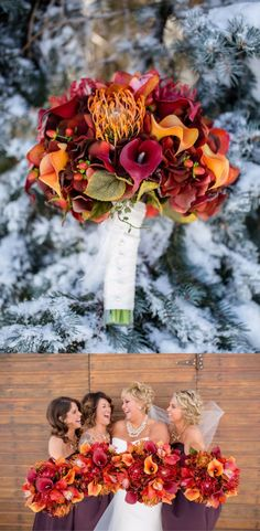 Gorgeous fall bouquet!! Love the colors! #fall #fallwedding #wedding #bouquet #fallbouquet #affiliate