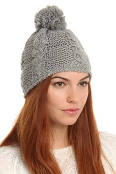 winter is coming!  this hat makes me want to play in the snow.