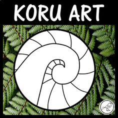 The koru is a popular symbol in New Zealand. Here is a set of 4 different templates that can be used in a variety of ways . you decide! The 4 Templates: ♦ Plain (koru only) ♦ Radiating lines behind koru ♦ Patchwork lines behind koru ♦ Art Lessons For Kids, Art For Kids, Art Maori, Maori Legends, Waitangi Day, Maori Words, Maori Symbols, Maori Patterns, Cultural Crafts