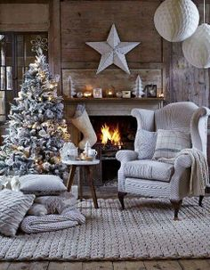 Dreaming of White Christmas!  via vintageretold (dot)  com