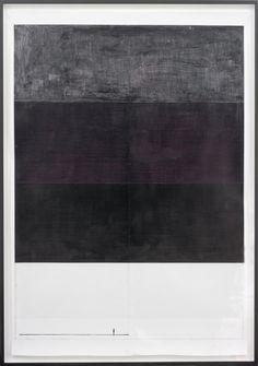"Nick Oberthaler / ""Untitled (Charleroi)"", 2011,  wax, Indian ink on paper,   160 x 110 cm"