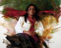 American artist Richard Schmid