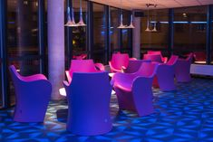 MAGIC HOTEL, #BERGEN #NORWAY ! decorated with small #armchair WOOPY #design by Karim Rashid in 2011. #interiordesign #karimrashid #interiors #outdoors