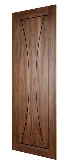 Pisa Walnut (FD30) Door Linings, Walnut Doors, Timber Door, Fire Doors, St Albans, Modern Door, Door Furniture, Walnut Veneer, Internal Doors