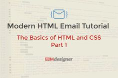 By the time you have finished this tutorial post you will have learnt the most important concepts in HTML and CSS. If you follow all of the steps, you will have a solid knowledge which will help you learn more advanced topics. We start our tutorial series with classic HTML