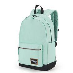 Menthe Verte 2 Packs /école Canvas Stripe Sac /à Dos Correspond /à 15,6 pour Ordinateur Portable Adolescent Filles avec USB de Charge Sac Port