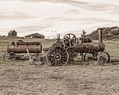 Image Steam Tractor vintage farm equipment by ImagesbyDougParrott, $25.00