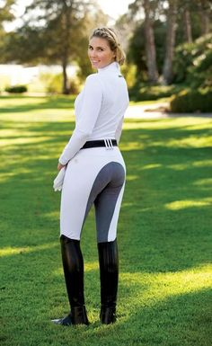 The newest member of the Romfh breech 'family', the Sarafina Full Seat is a breech fit for a (dressage or jumping) queen. The fit of this comfy mid-rise breech is outstanding. Equestrian Girls, Equestrian Boots, Equestrian Outfits, Equestrian Style, Equestrian Fashion, Riding Hats, Riding Helmets, Horse Riding, Catsuit