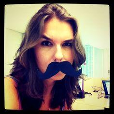 insdergram | Meu Instagram viu quando eu coloquei um bigode pra comemorar o # ...
