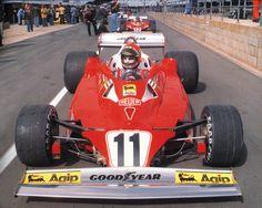 1977 GP Wielkiej Brytanii (Silverstone) Ferrari 312T2 (Niki Lauda)