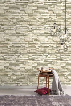 RoomMates RMK9026WP Natural Stacked Stone Peel and Stick Wall Decor - - Amazon.com