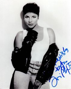 Toni Braxton Autographed Signed Sexy Leather Photo Uacc Rd Coa
