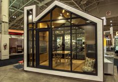 Prefab and Modern Bunkie Tiny House Concept Prefab Cabins, Prefab Homes, Modern Tiny House, Tiny House Design, Home Decor Styles, Cheap Home Decor, Small Bedroom Inspiration, Built In Furniture, Arquitetura