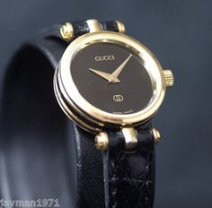 98492627ba7 Love this watch. Absolutley Stunning Gucci 2000L Vintage Luxury Stacked Watch  Women s Gold Vintage Watches
