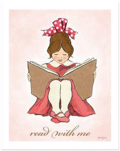 Read With Me (Pink B) - Sarah Jane Studios